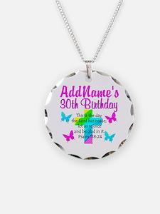 HAPPY 30TH Necklace