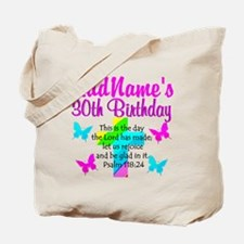 HAPPY 30TH Tote Bag