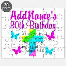 HAPPY 30TH Puzzle