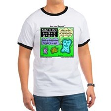 Amoeba Math Cartoon T
