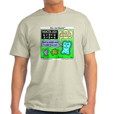 Amoeba Math Cartoon Light T-Shirt