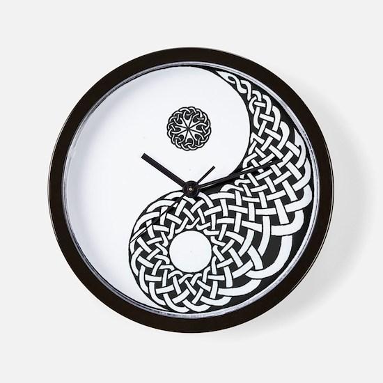 Celtic Yin & Yang Wall Clock