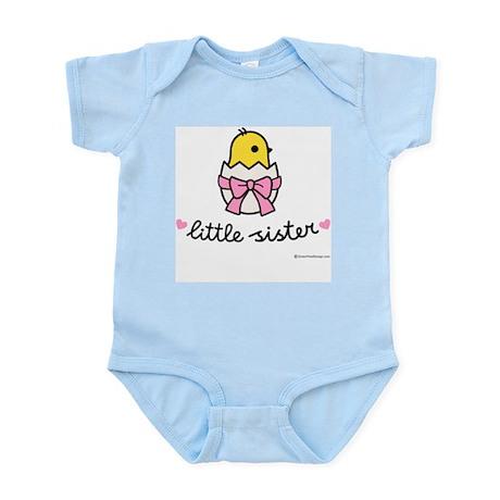 Little sister Infant Bodysuit (Chick)