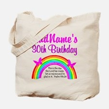 BEAUTIFUL 30TH Tote Bag