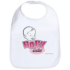 Baby Sister Bib (Retro)
