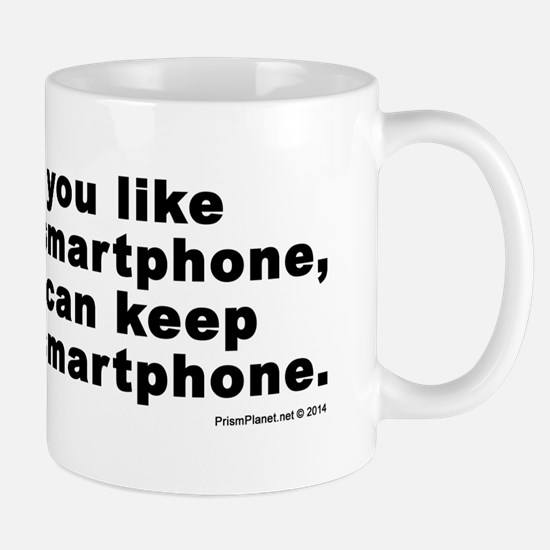 NSA Smartphone Mug