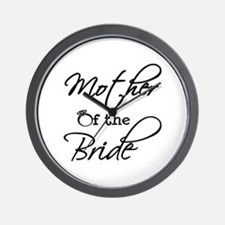 Mother of the Bride Wall Clock