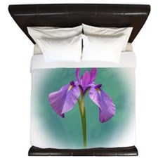 purpleiris King Duvet