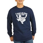 Messed With Texas Long Sleeve Dark T-Shirt