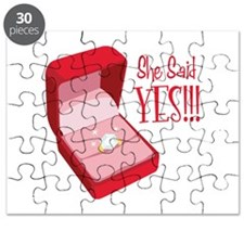 She Said YES!!! Puzzle