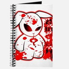 Splatter Smash Bunny Journal