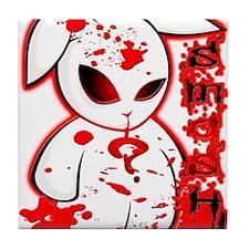 Splatter Smash Bunny Tile Coaster