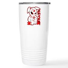 Splatter Smash Bunny Travel Mug