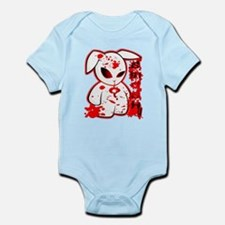 Splatter Smash Bunny Infant Bodysuit