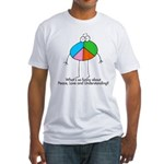 Understanding Peace Fitted T-Shirt