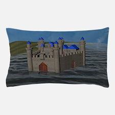 Water Castle Pillow Case