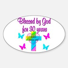 JOYOUS 30TH Decal