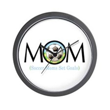 Soccer Mom Wall Clock