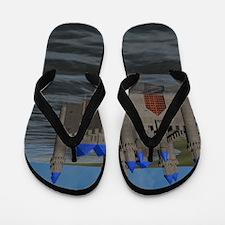 Water Castle Flip Flops