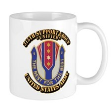 DUI - 315th Support Group With Text Mug