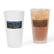Water Castle Drinking Glass