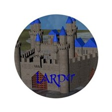 "Water Castle 3.5"" Button"