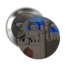 "Water Castle 2.25"" Button (100 pack)"
