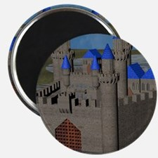Water Castle Magnets