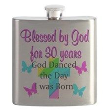 AWESOME 30TH Flask