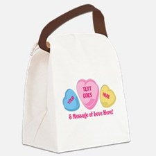 Personalized Candy Heart Valentine Special Canvas