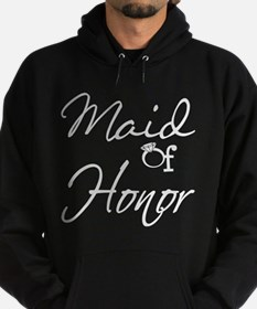 Maid of Honor Hoodie (dark)