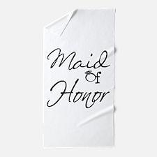 Maid of Honor Beach Towel