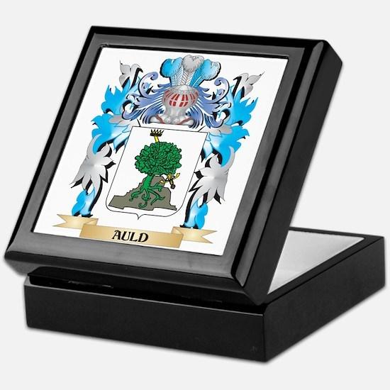 Auld Coat Of Arms Keepsake Box