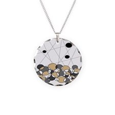 Modern Minimalist Circles Necklace