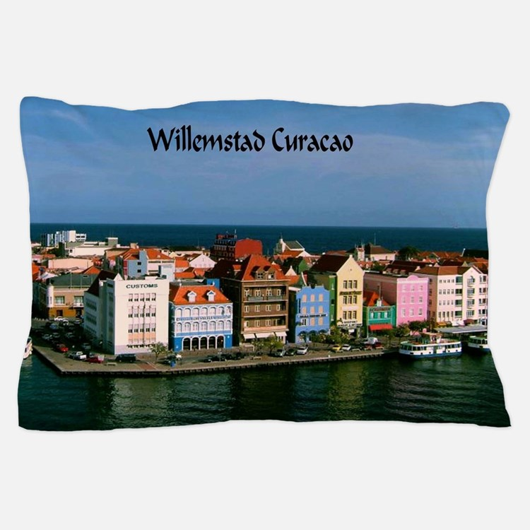 Willemstad Curacao Pillow Case