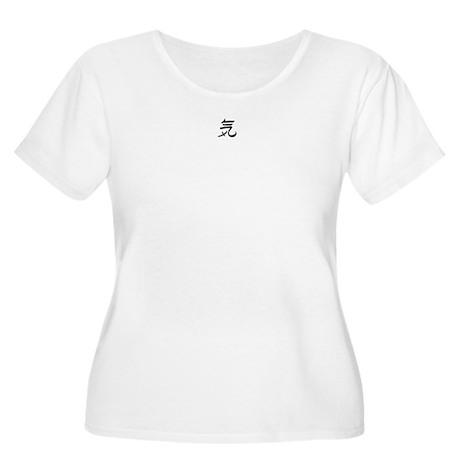 Kanji - Spirit Women's Plus Size Scoop Neck T-Shir