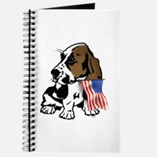 Basset Hound Flag Journal