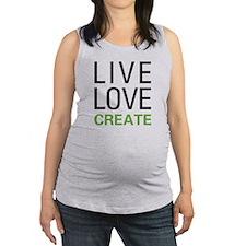 Live Love Create Maternity Tank Top