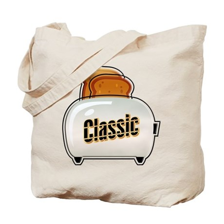 Classic Toaster Tote Bag