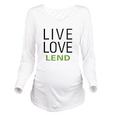 livelend.png Long Sleeve Maternity T-Shirt