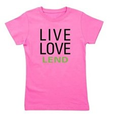 livelend.png Girl's Tee