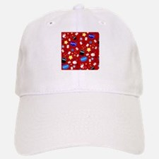 Red Magic Show magician pattern Baseball Baseball Cap