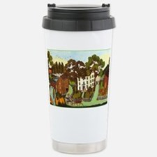 Croquet in the Country Stainless Steel Travel Mug