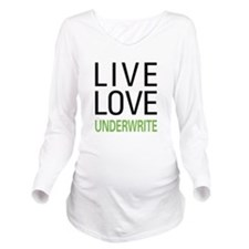liveunderw.png Long Sleeve Maternity T-Shirt