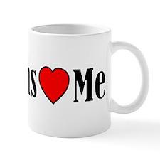 Lesbians Love Me Small Mugs