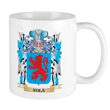 Avila Coat Of Arms Mugs