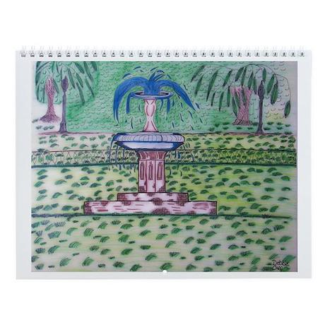 Forsythe Park Wall Calendar