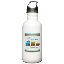 Custom Kids Train Water Bottle
