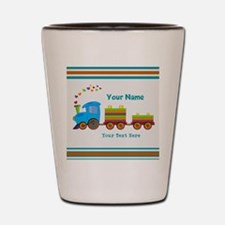 Custom Kids Train Shot Glass