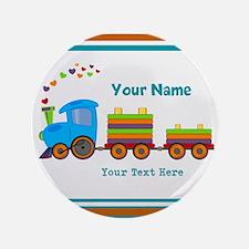 "Custom Kids Train 3.5"" Button (100 pack)"